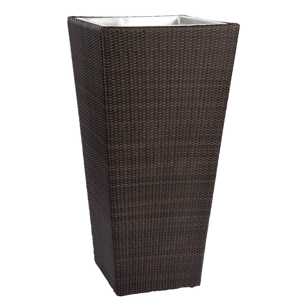 Woodard All Weather Wicker Large Planter - S593303L
