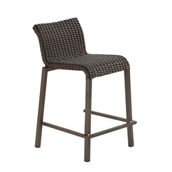Woodard All Weather Wicker Lane Counter Stool - S605013