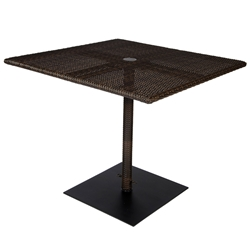 Woodard All-Weather Square Umbrella Table - S593736