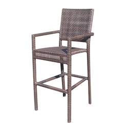 Woodard All Weather Miami Bar Stool - S601089
