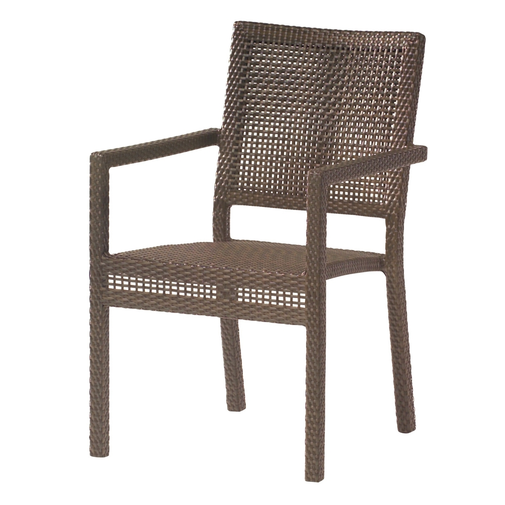 Woodard All Weather Miami Dining Arm Chair - S601501