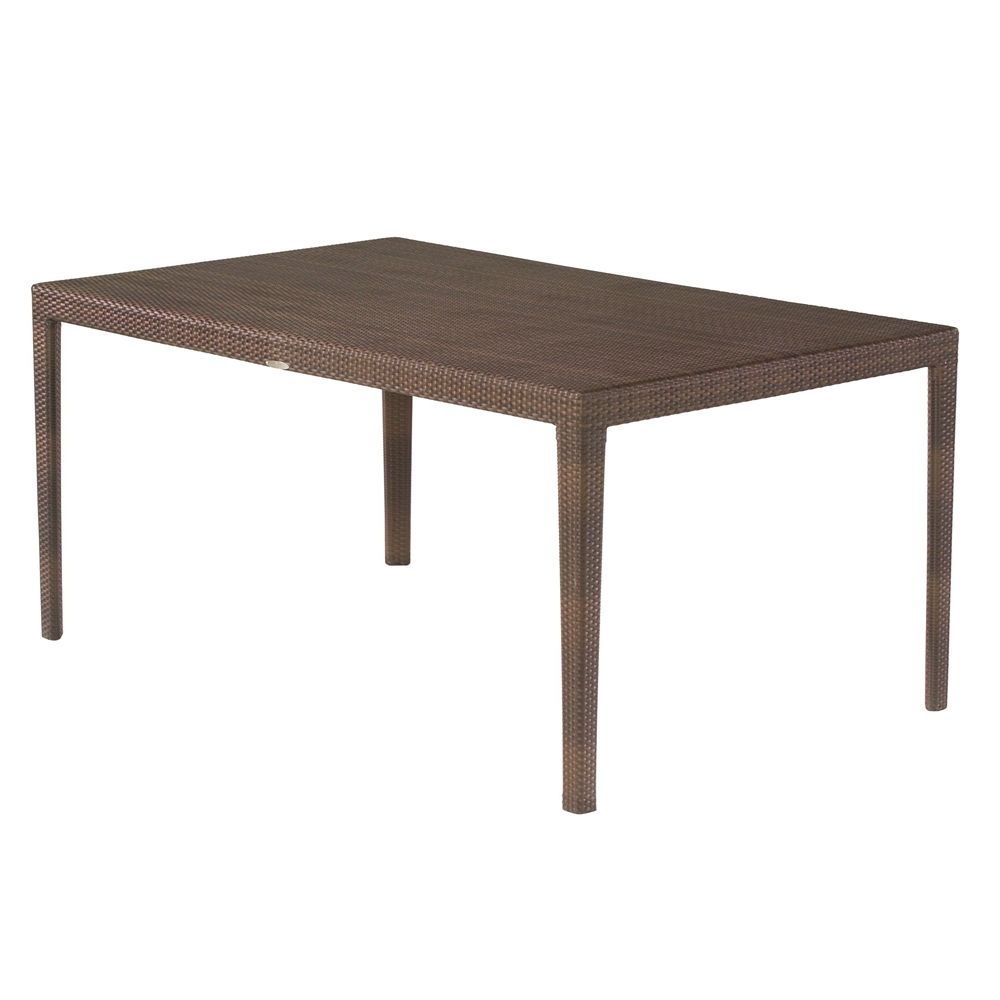 Woodard All Weather Miami Rectangular Dining Table - S601702