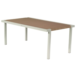 Woodard All Weather Sheridan Rectangular Dining Table - S603702