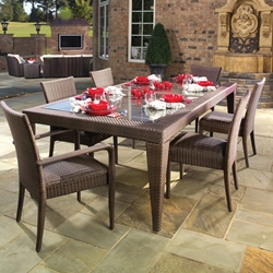 Woodard All Weather 7 Piece Patio Dining Set - WHITECRAFT-ALLWEATHER-SET1