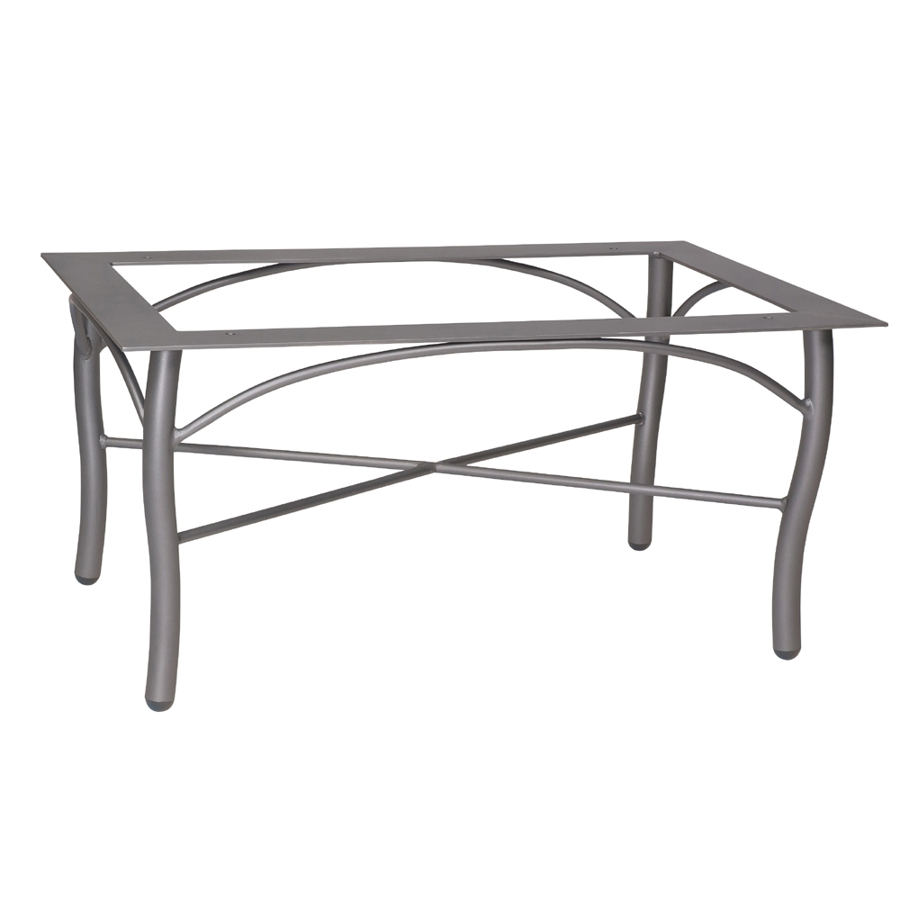 Woodard Tribeca Rectangular Coffee Table Base - 5D4500