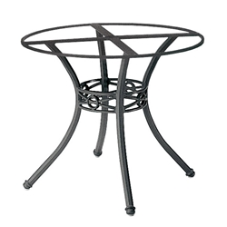 Woodard Delphi Dining Table Base with Round Rim - 854800