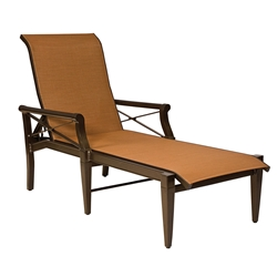 Woodard Andover Sling Adjustable Chaise Lounge - 3Q0470