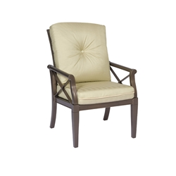 Woodard Andover Cushion Dining Arm Chair - 510401