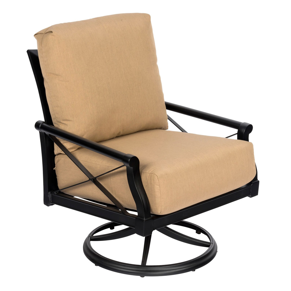 Woodard Andover Swivel Rocking Lounge Chair - 510477