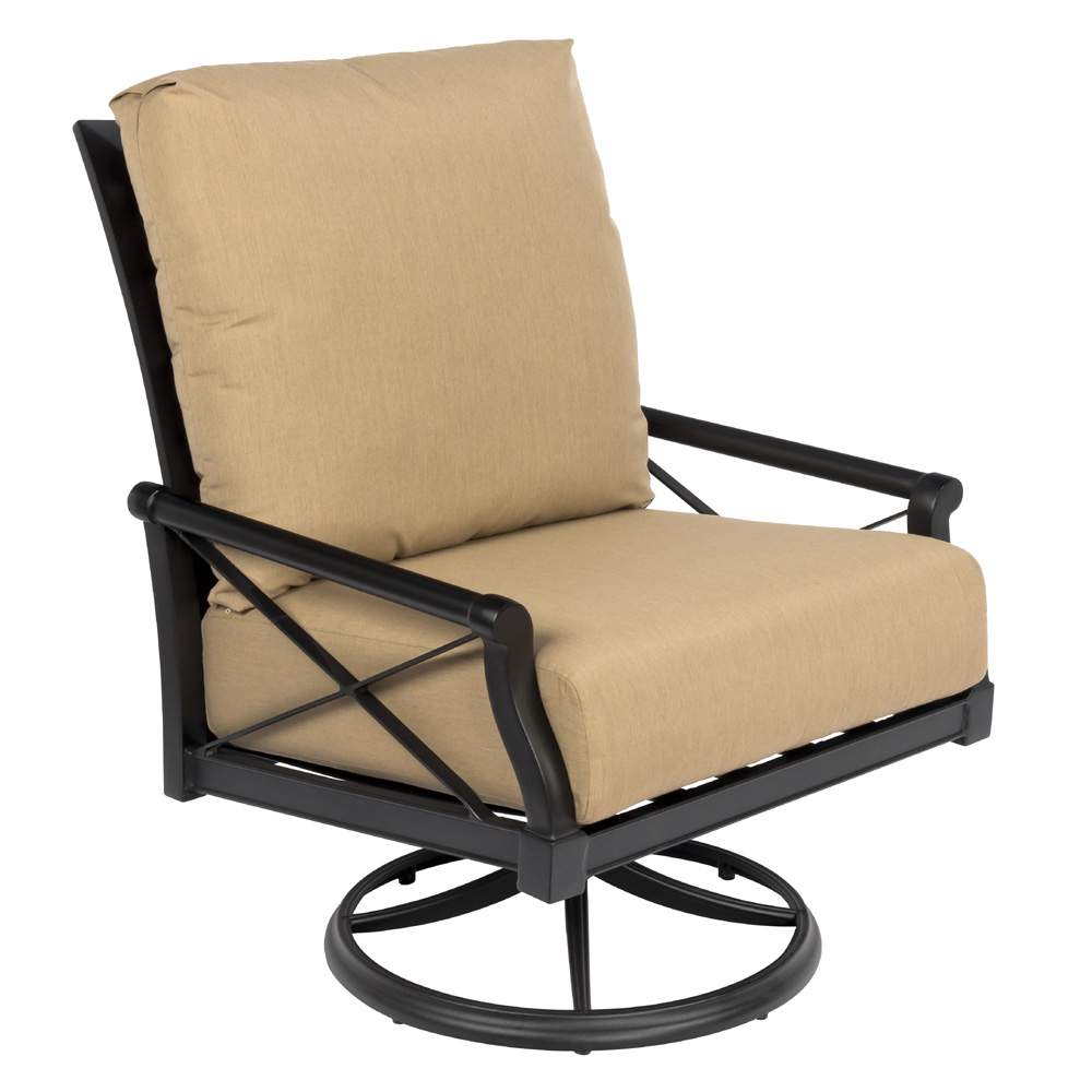 Woodard Andover Cushion Big Man's Swivel Rocking Lounge Chair - 510677