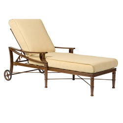 Woodard Arkadia Cushion Adjustable Chaise Lounge - 590470