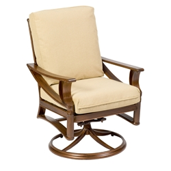 Woodard Arkadia Cushion Swivel Rocker - 590472