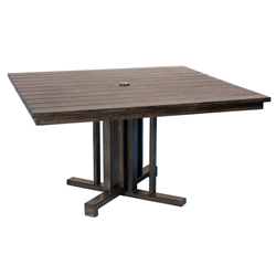 Woodard Augusta Woodlands 54 inch Square Dining Table - S592706
