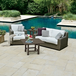 Woodard Augusta 5 Piece Patio Set - WHITECRAFT-AUGUSTA-SET1