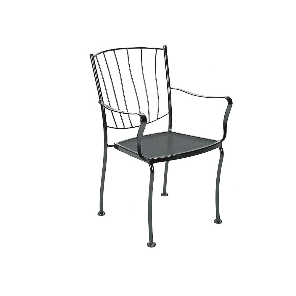 Woodard Aurora Stackable Dining Arm Chair - 5L0001