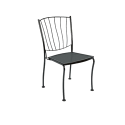 Woodard Aurora Stackable Dining Side Chair - 5L0002