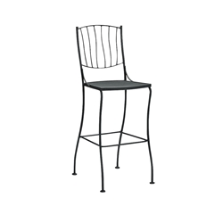 Woodard Aurora Stationary Bar Stool Without Arms - 5L0068