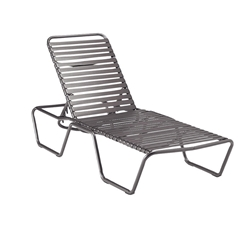 Woodard Baja Strap Stackable Adjustable Chaise Lounge - 23M470
