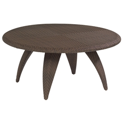 Woodard Bali Coffee Table with Woven Top - S533211
