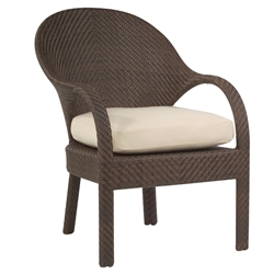 Woodard Bali Dining Occasional Chair - S533501