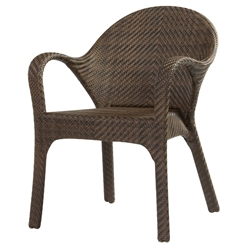 Woodard Bali Small Dining Chair - S533511