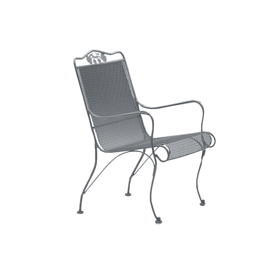 Woodard Briarwood High Back Lounge Chair - 400006