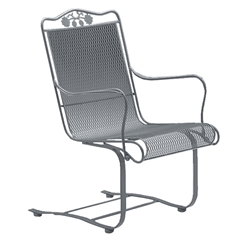 Woodard Briarwood High Back Spring Base Chair - 400018