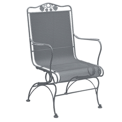 Woodard Briarwood High Back Coil Spring Chair - 400066