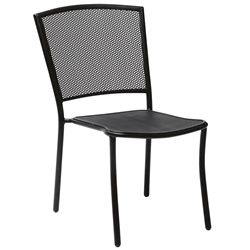 Woodard Cafe Series Albion Dining Side Chair - Stackable - 7R0022