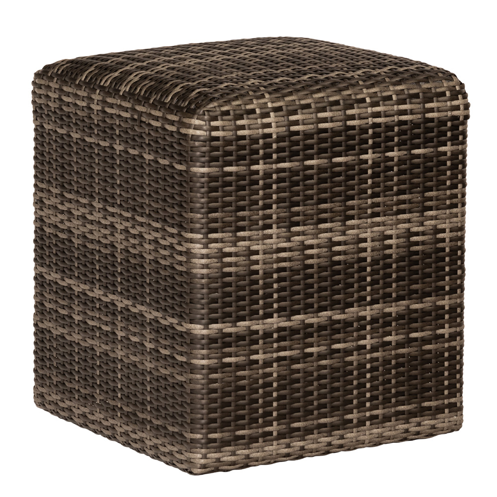 Woodard Canaveral Woven Reticulated Cube - S508921
