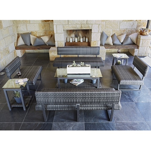 Woodard Canaveral Harper Patio Lounge Set - WD-CANAVERAL-SET2