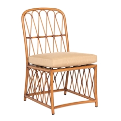 Woodard Cane Dining Side Chair - S650511