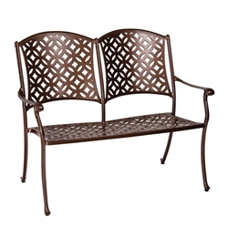 Woodard Casa Bench - 3Y0404