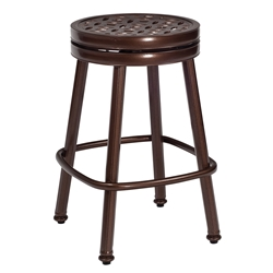 Woodard Casa Round Swivel Counter Stool - 3Y0669