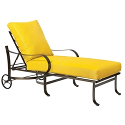 Woodard Cascade Adjustable Chaise Lounge - 2W0070