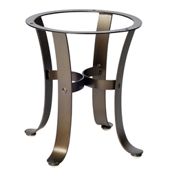 Cascade Wrought Iron End Table Base