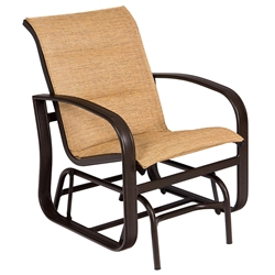 Woodard Cayman Isle Padded Sling Gliding Chair - 2FX578
