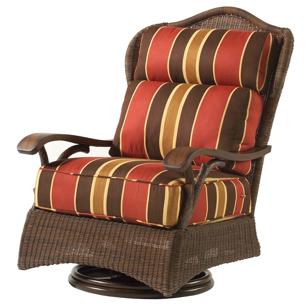 Woodard Chatham Swivel Lounge Chair - S525015