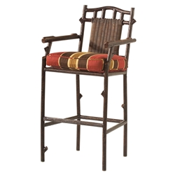 Woodard Chatham Run Bar Stool With Arms - S525089