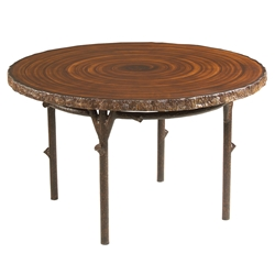 Woodard Chatham Run Heartwood Round Dining Table - S525703