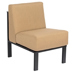 Woodard Comstock Armless Sectional Chair - 720062