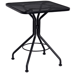 Woodard 24 Inch Square Contract Plus Bistro Table - 280024