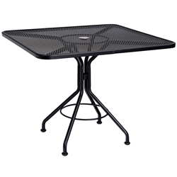 Contract Wrought Iron Mesh Tables