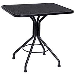 Woodard 24 Inch x 30 Inch Rectangular Contract Plus Bistro Table - 280092