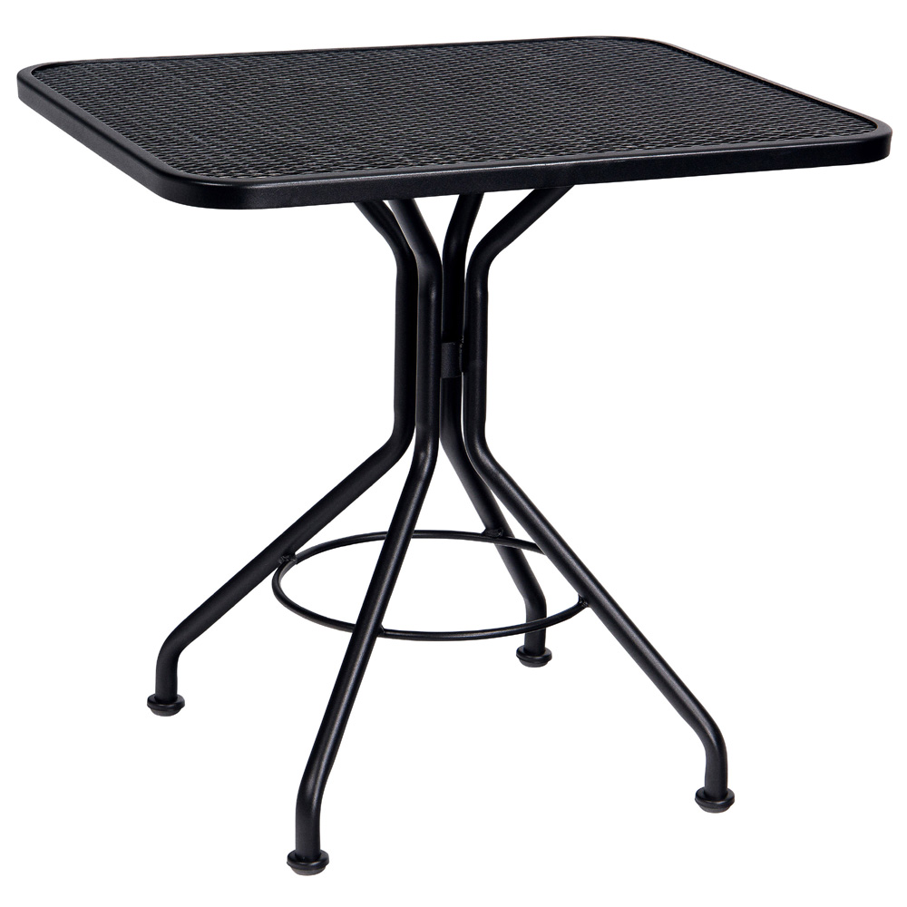 Woodard 24 Inch X 30 Inch Rectangular Contract Plus Bistro Table   280092