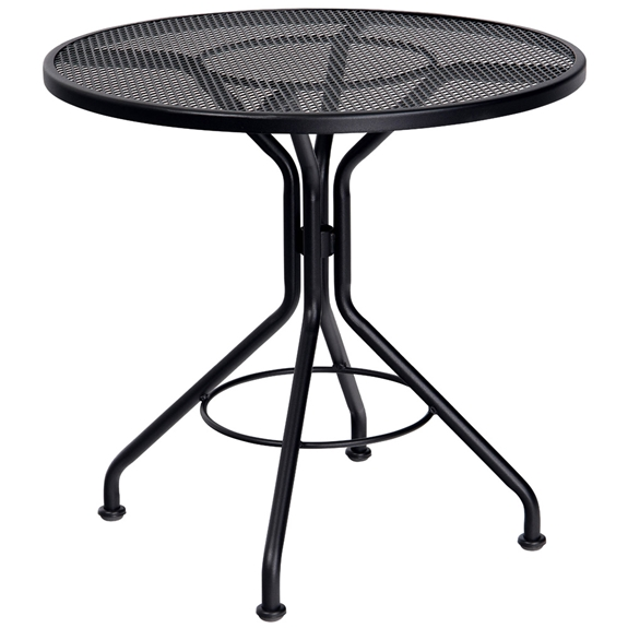 Woodard 30 Inch Round Contract Plus Bistro Table - 280134