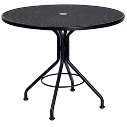 Woodard 42 Inch Round Contract Plus Bistro Umbrella Table - 280136