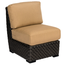 Woodard Cooper Armless Wicker Sectional Chair - S640001