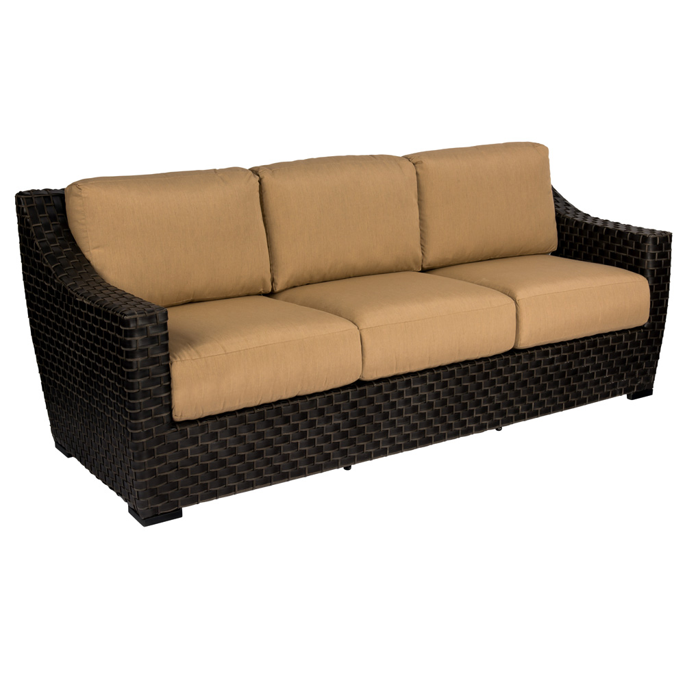 Woodard Cooper Wicker Sofa - S640031