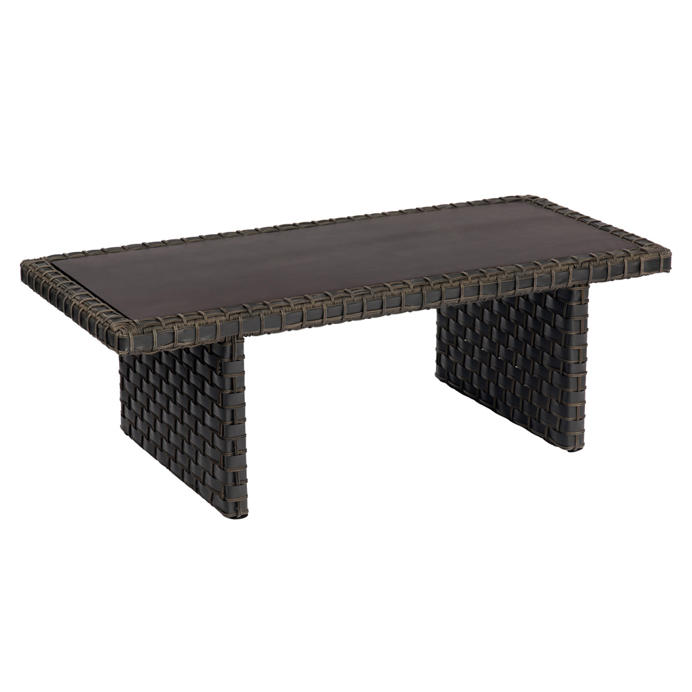 Woodard Cooper Rectangular Wicker Coffee Table - S640211